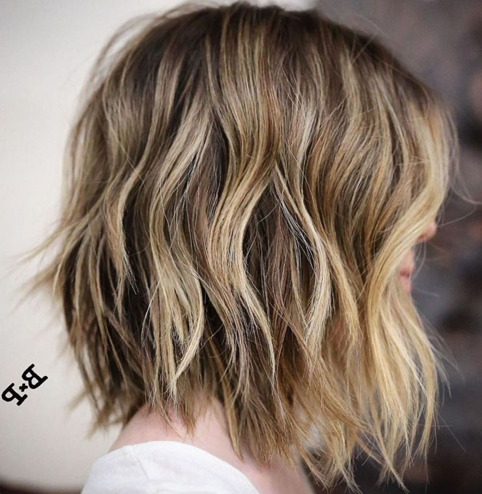 Hairstyles : Choppy Long Bob Good Looking 80 Sensational Regarding Newest Mid Length Choppy Haircuts For Thick Hair (View 3 of 20)