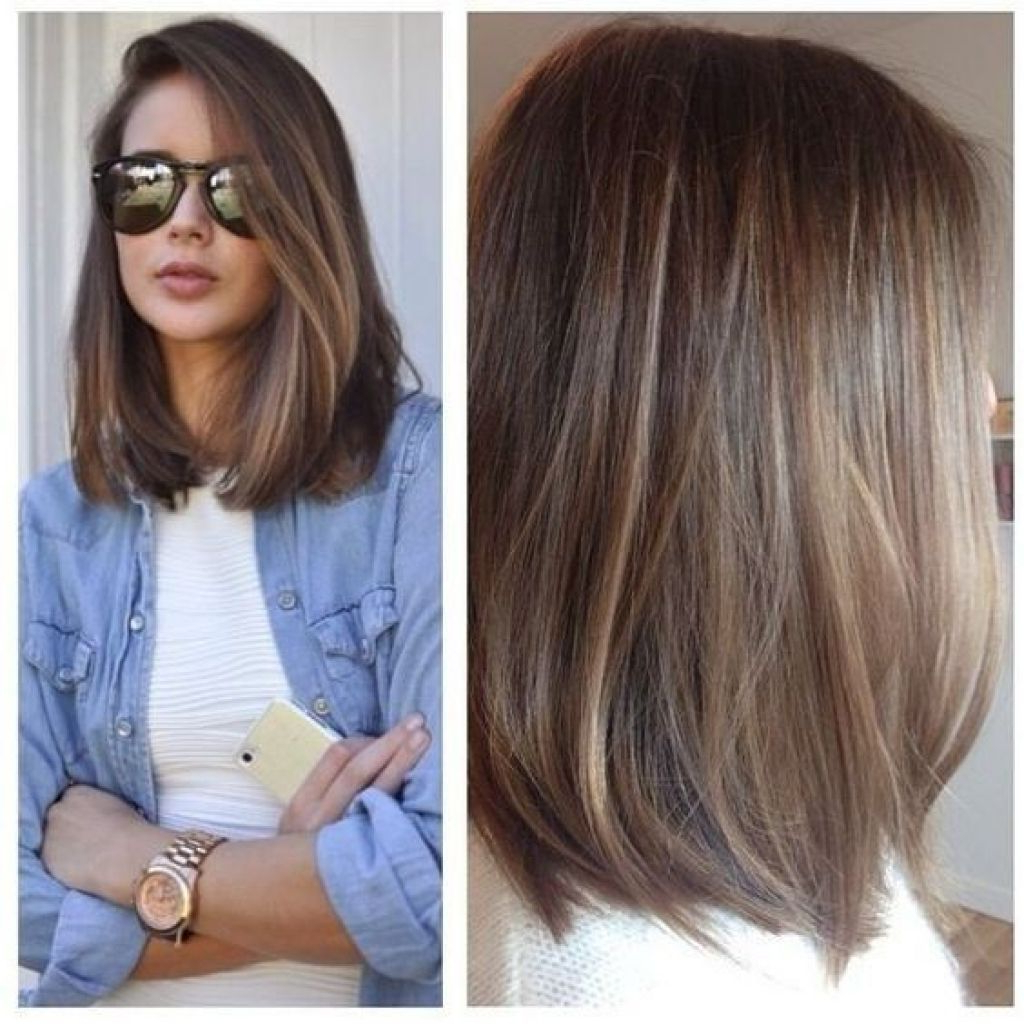 Hairstyles For Women 2017 25 Unique Haircuts Ideas On With Regard To Widely Used Chopped Medium Haircuts For Straight Hair (View 2 of 20)