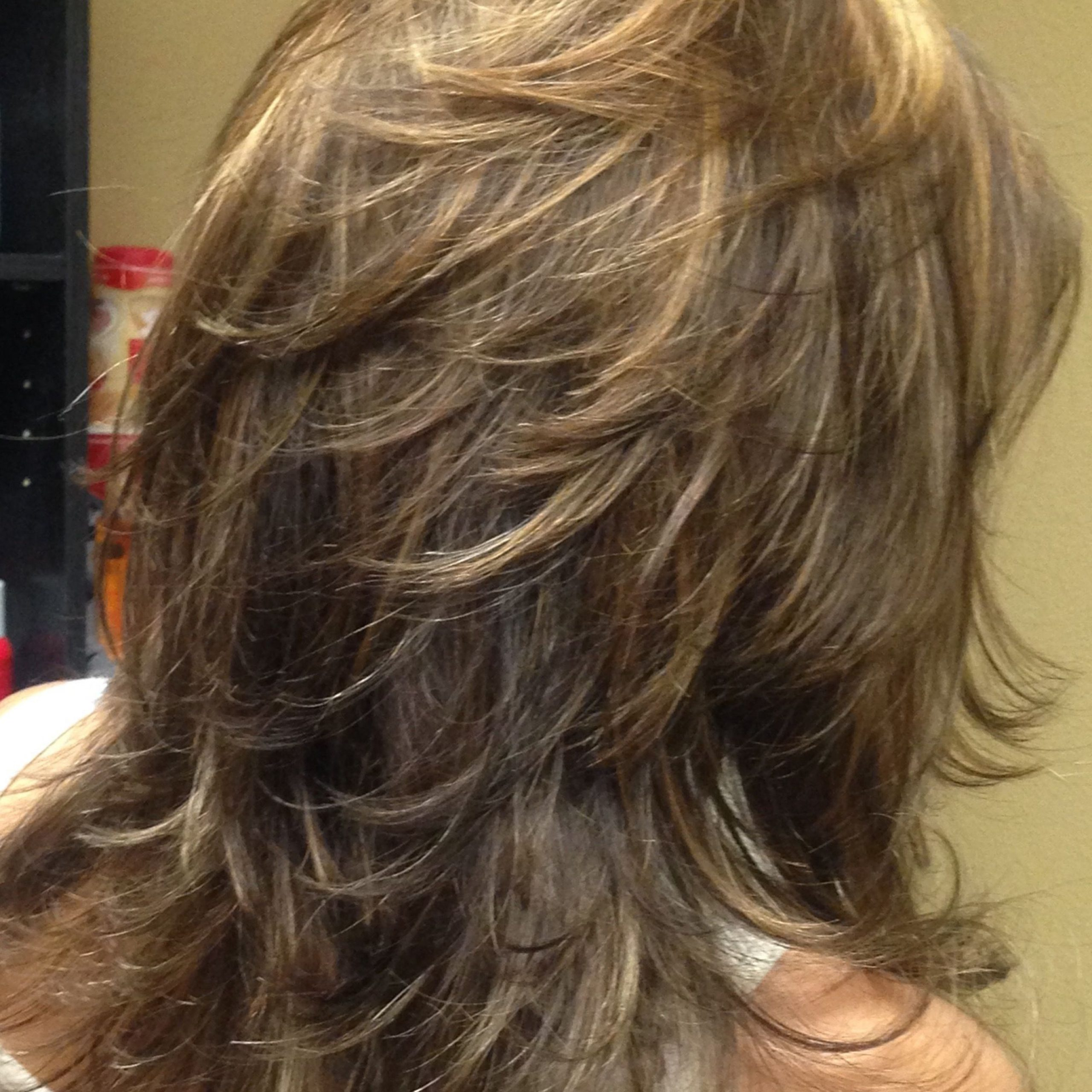 Hairstyles : Long Hair With Lots Of Choppy Layers Adorable Inside Favorite Long Layered Chop Haircuts (View 8 of 20)