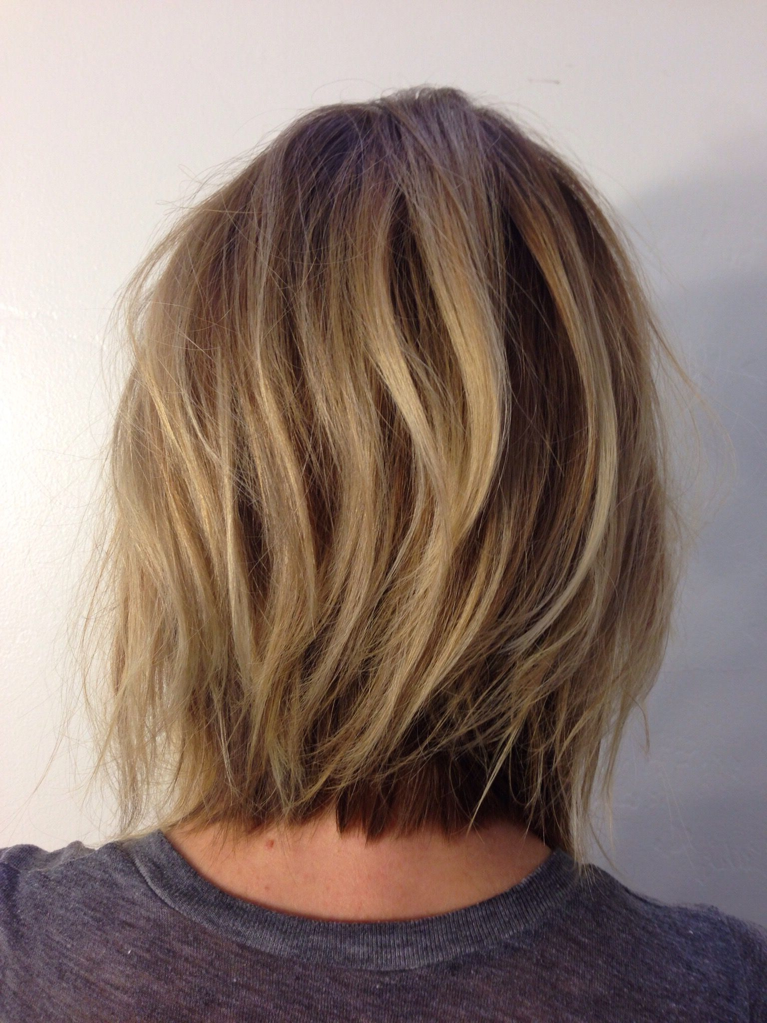 Hairstyles : Shoulder Length Choppy Bob Awe Inspiring For Shoulder Length Choppy Hairstyles (View 8 of 20)