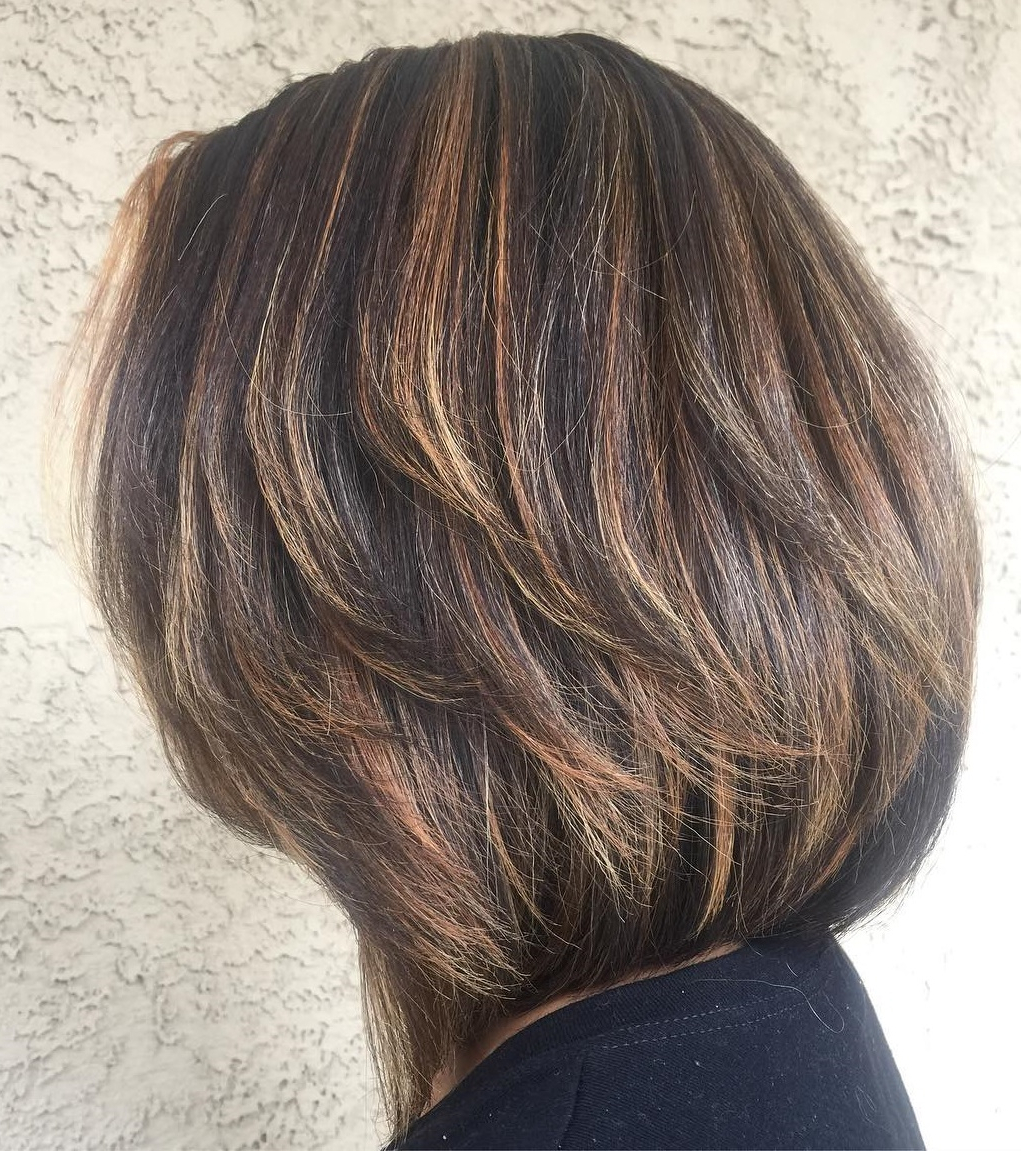 How To Nail Layered Hair In 2019: Full Guide To Lengths And Inside Preferred Warm Brown Hairstyles With Feathered Layers (View 10 of 20)