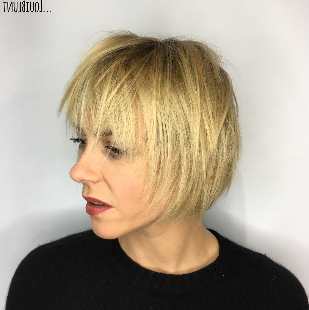 How To Nail Layered Hair In 2019: Full Guide To Lengths And Pertaining To V Cut Outgrown Pixie Haircuts (View 7 of 20)