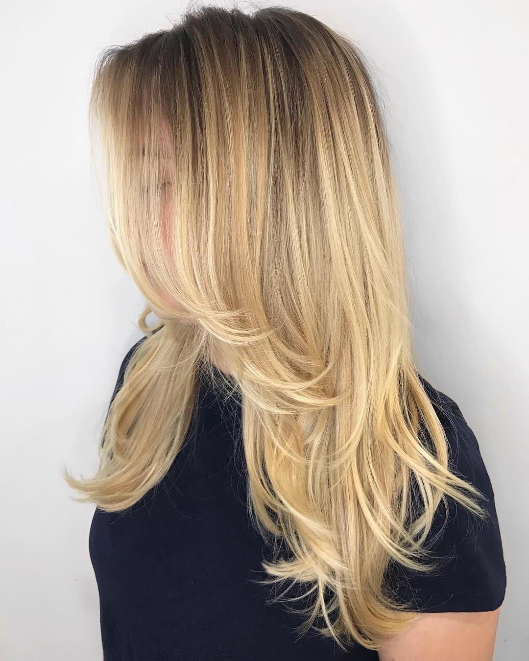How To Nail Layered Hair In 2019: Full Guide To Lengths And Throughout Most Recent Chic Flipping Layers Long Shag Haircuts (View 5 of 20)