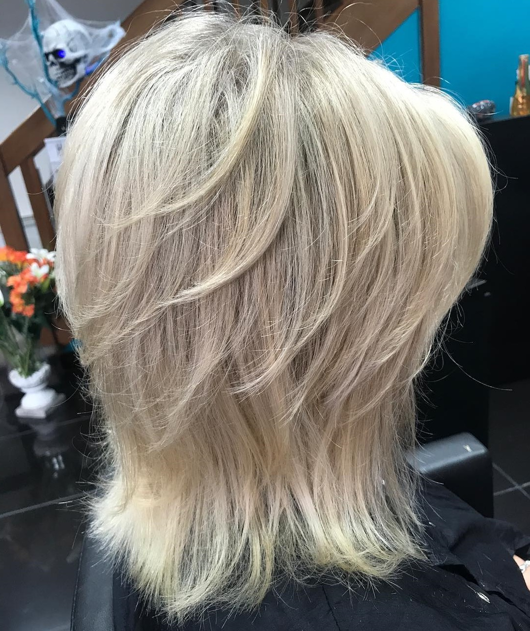 How To Pull Off Medium Length Haircuts And Hairstyles In 2019 With Regard To Most Up To Date Two Tone Disheveled Layered Hairstyles (View 11 of 20)