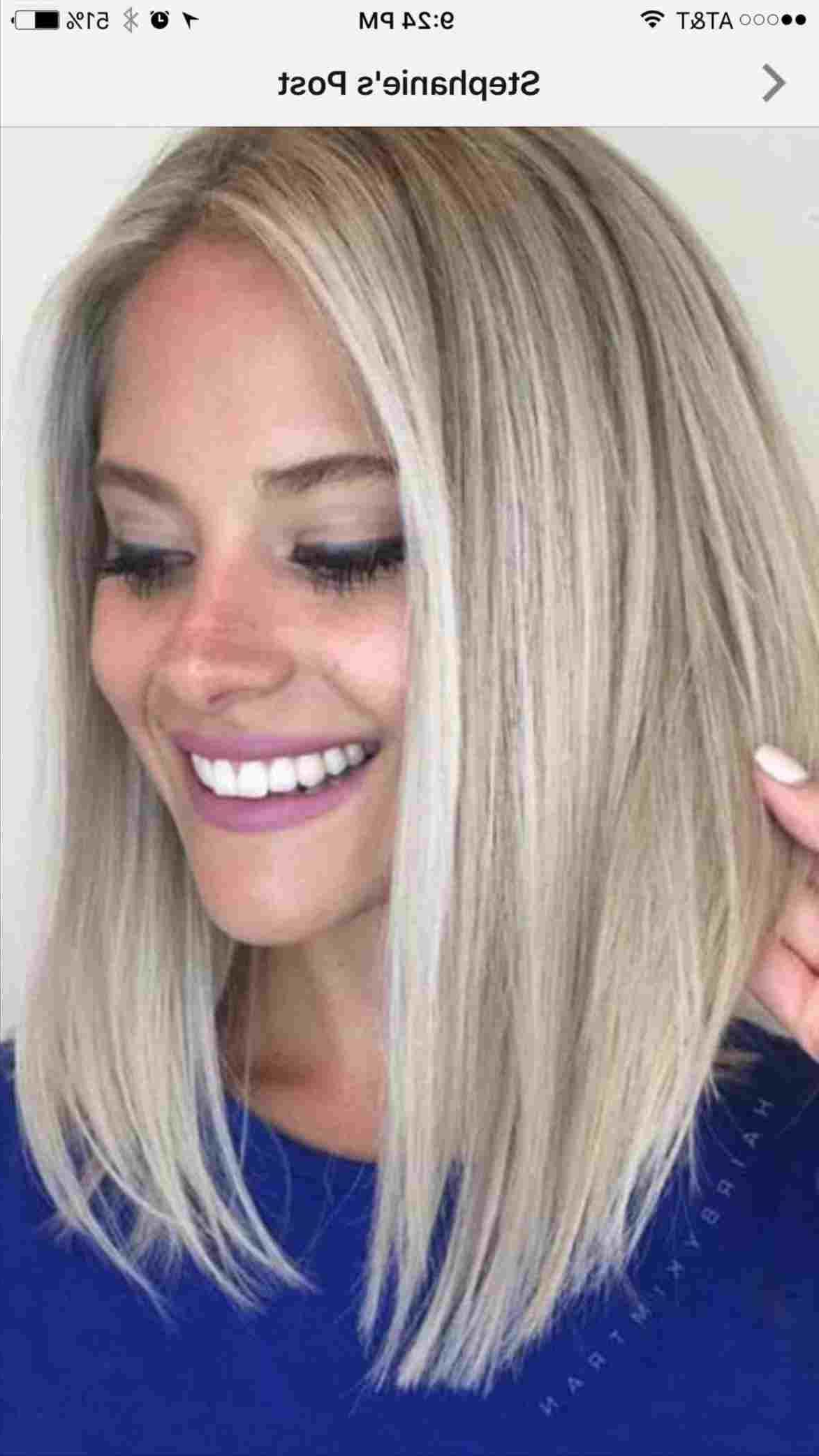 Image Result For Lob Haircut For Round Faces In 2019 With Long Bob Hairstyles For Round Face Types (View 2 of 20)