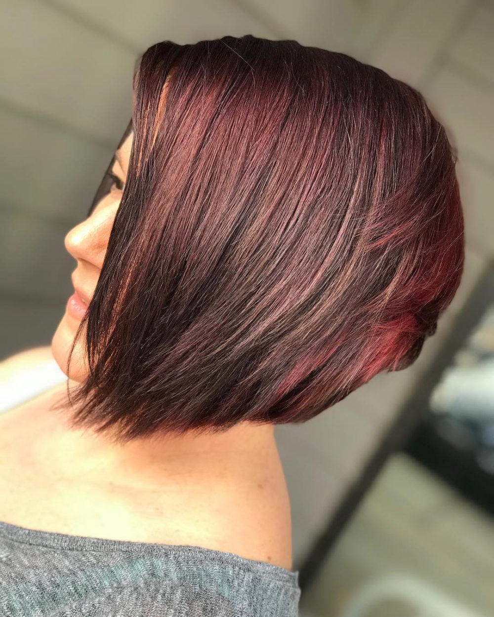 Latest Jagged Red Ombre Hairstyles In 47 Popular Short Choppy Hairstyles For (View 7 of 20)