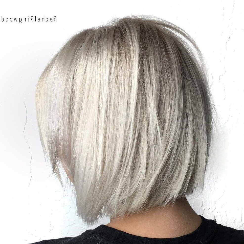 Latest Medium Silver Layers Hairstyles In 60 Beautiful And Convenient Medium Bob Hairstyles In (View 12 of 20)