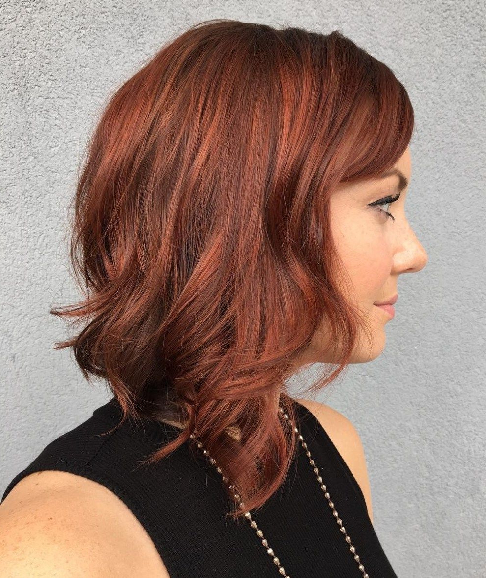 Latest Tousled Auburn Bob Haircuts With 60 Auburn Hair Colors To Emphasize Your Individuality In (View 11 of 20)