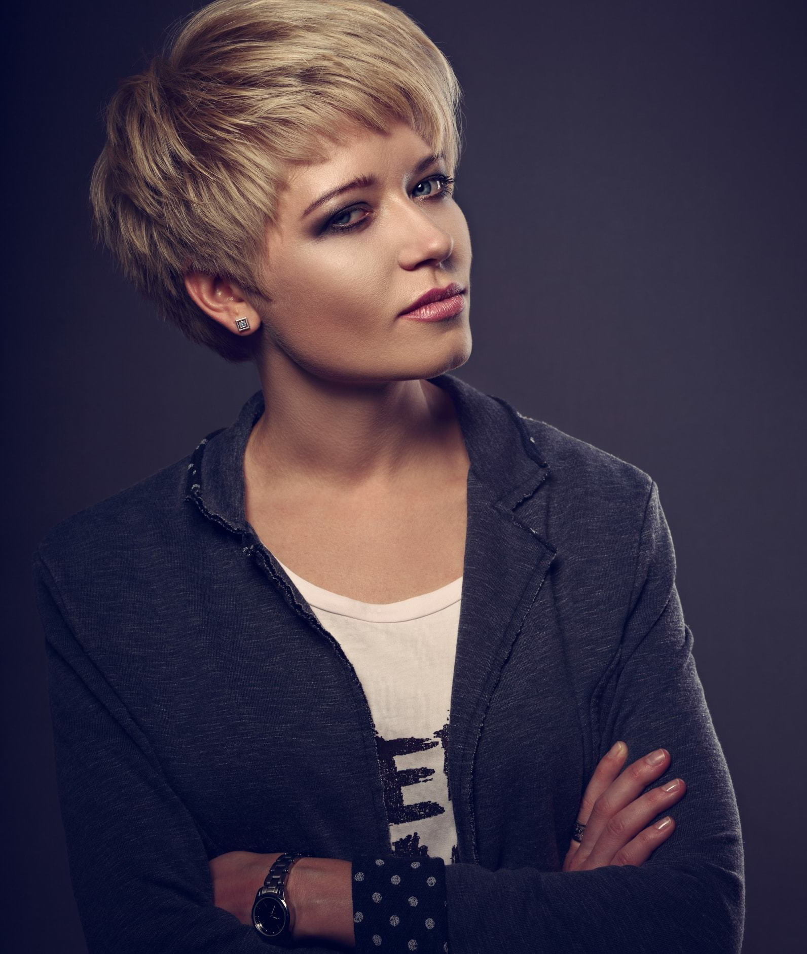 Livin' The Short Life: 20 Short Haircuts For Round Faces Inside Cropped Pixie Haircuts For A Round Face (View 18 of 20)