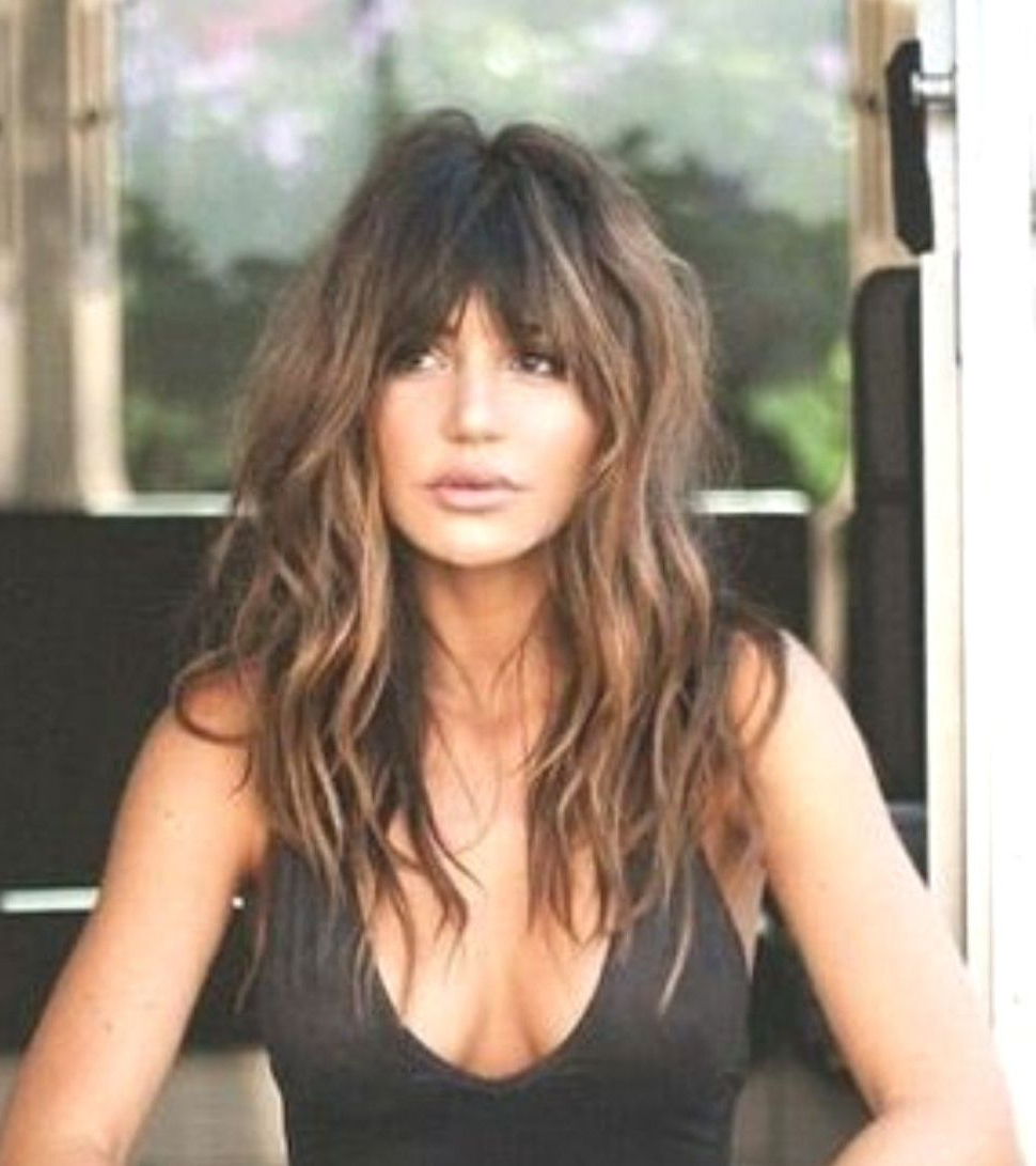 Long Hairstyles Beach Waves Throughout Favorite Carefree Shaggy Waves Haircuts (View 14 of 20)
