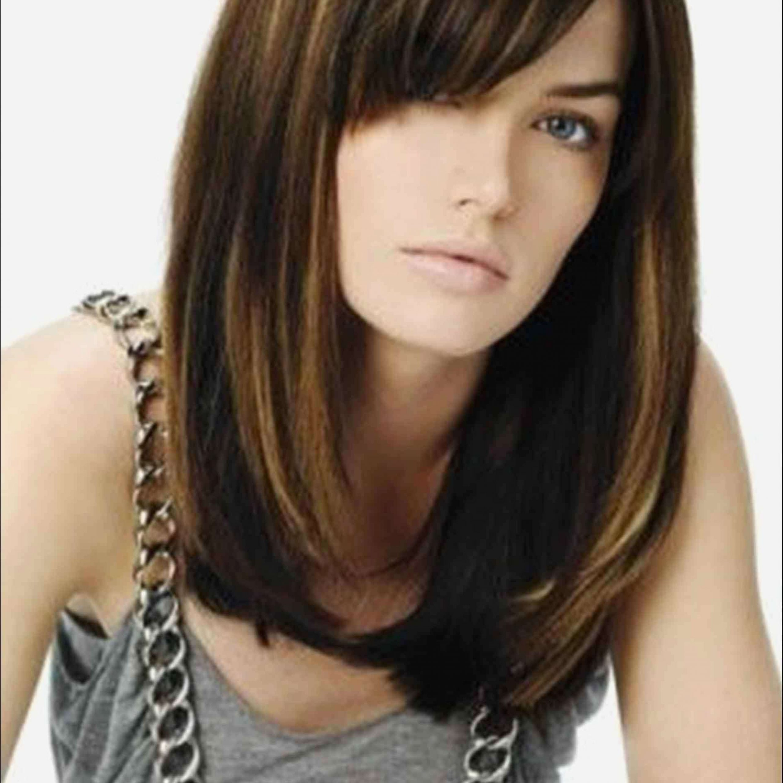 Long Hairstyles Best Long Bob Hairstyles For Round Faces Regarding Long Bob Hairstyles For Round Face Types (View 6 of 20)