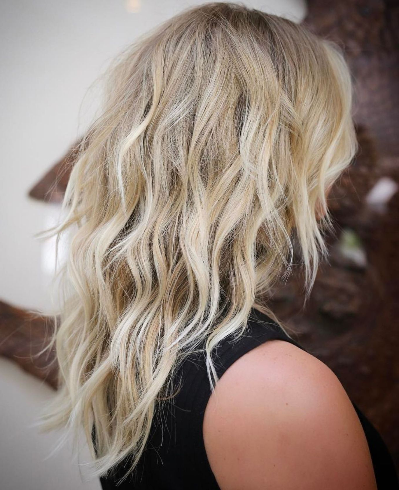 Featured Photo of Blonde Shag Haircuts With Layers