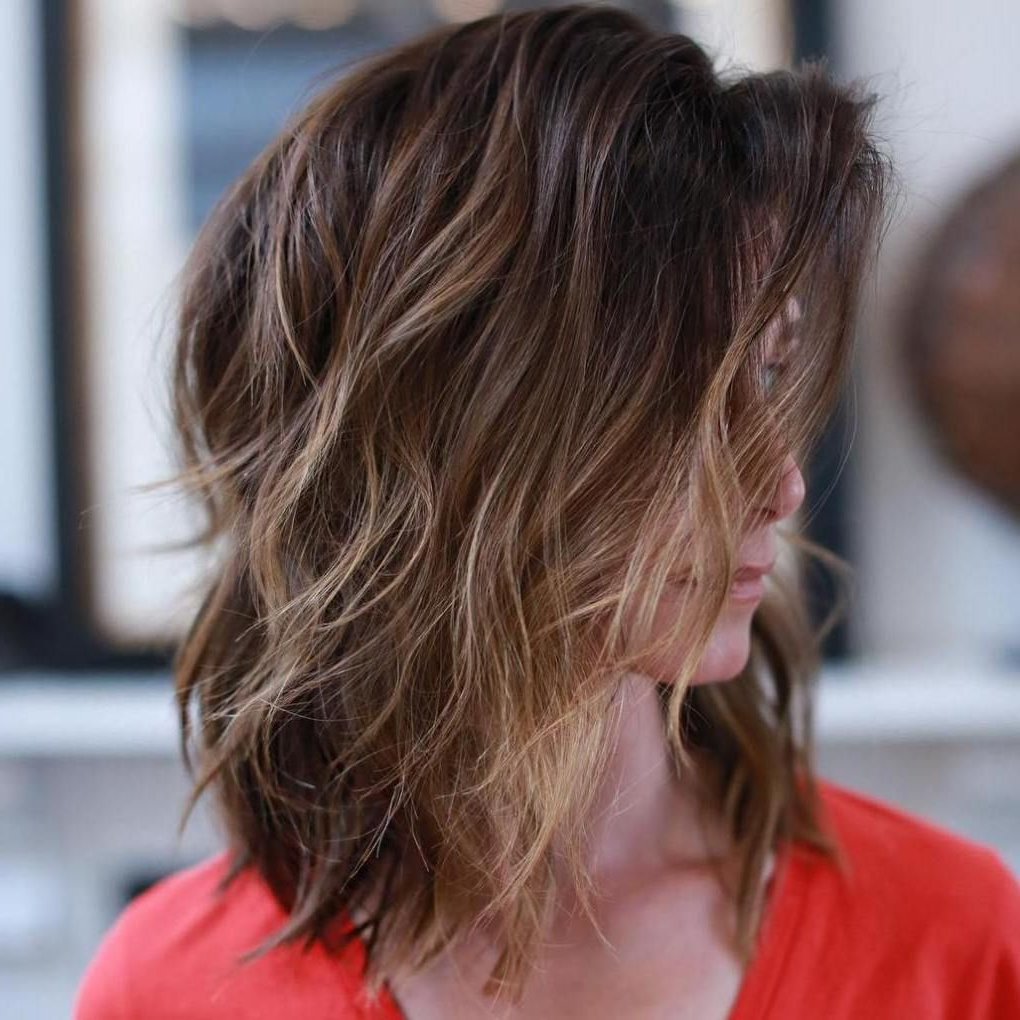 Featured Photo of Subtle Ombre Shag Haircuts
