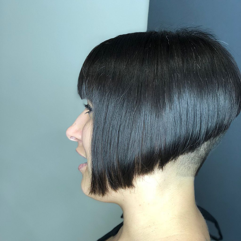 Lt1806286354127 In 2019 | Short Hair Styles, Girls Short Pertaining To Short Sliced Inverted Bob Hairstyles (View 11 of 20)