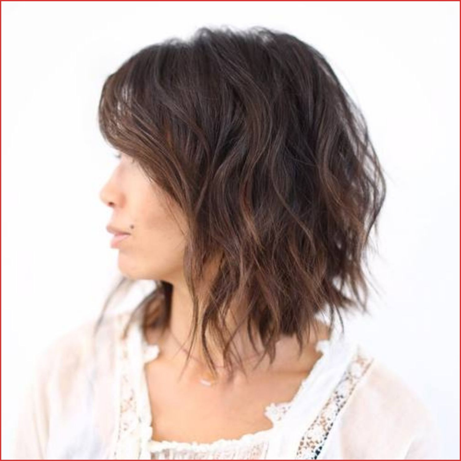 Medium Length Haircuts For Thick Hair With Side Bangs Pin Within Recent Mid Length Choppy Haircuts For Thick Hair (View 16 of 20)