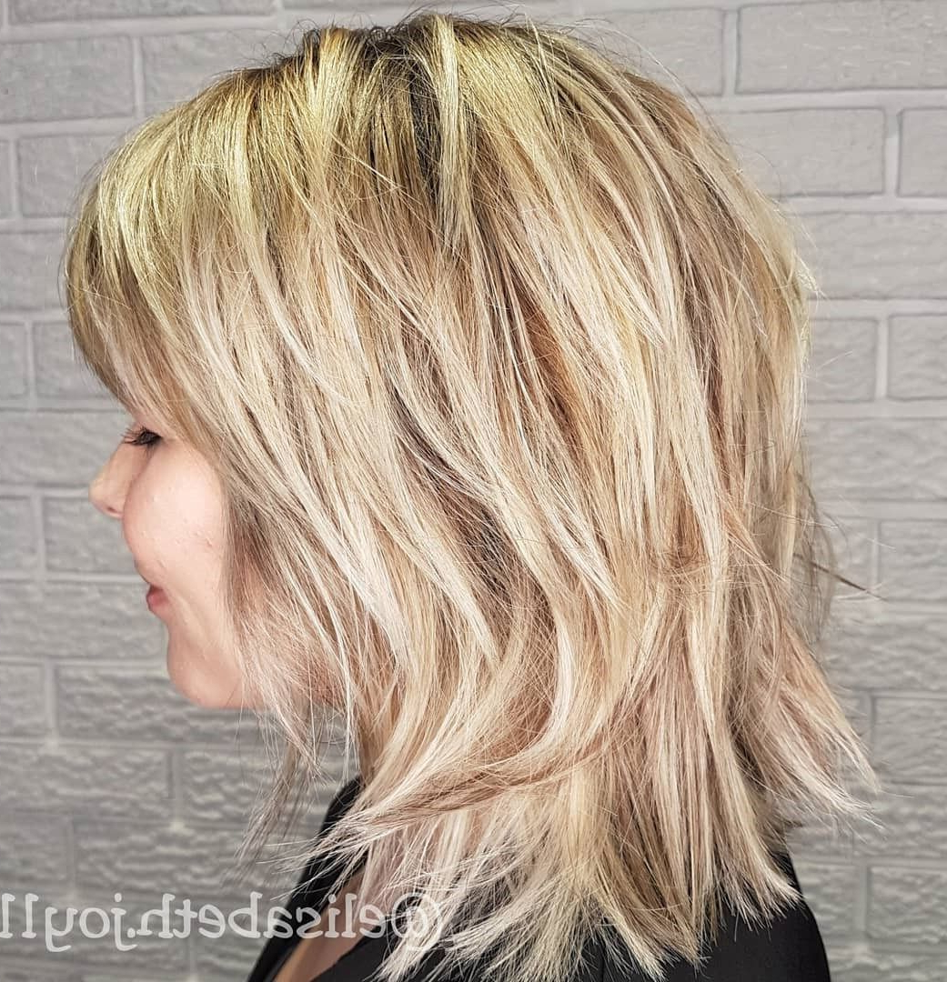 Most Current Blonde Shag Haircuts With Layers With Regard To 60 Best Variations Of A Medium Shag Haircut For Your (View 8 of 20)