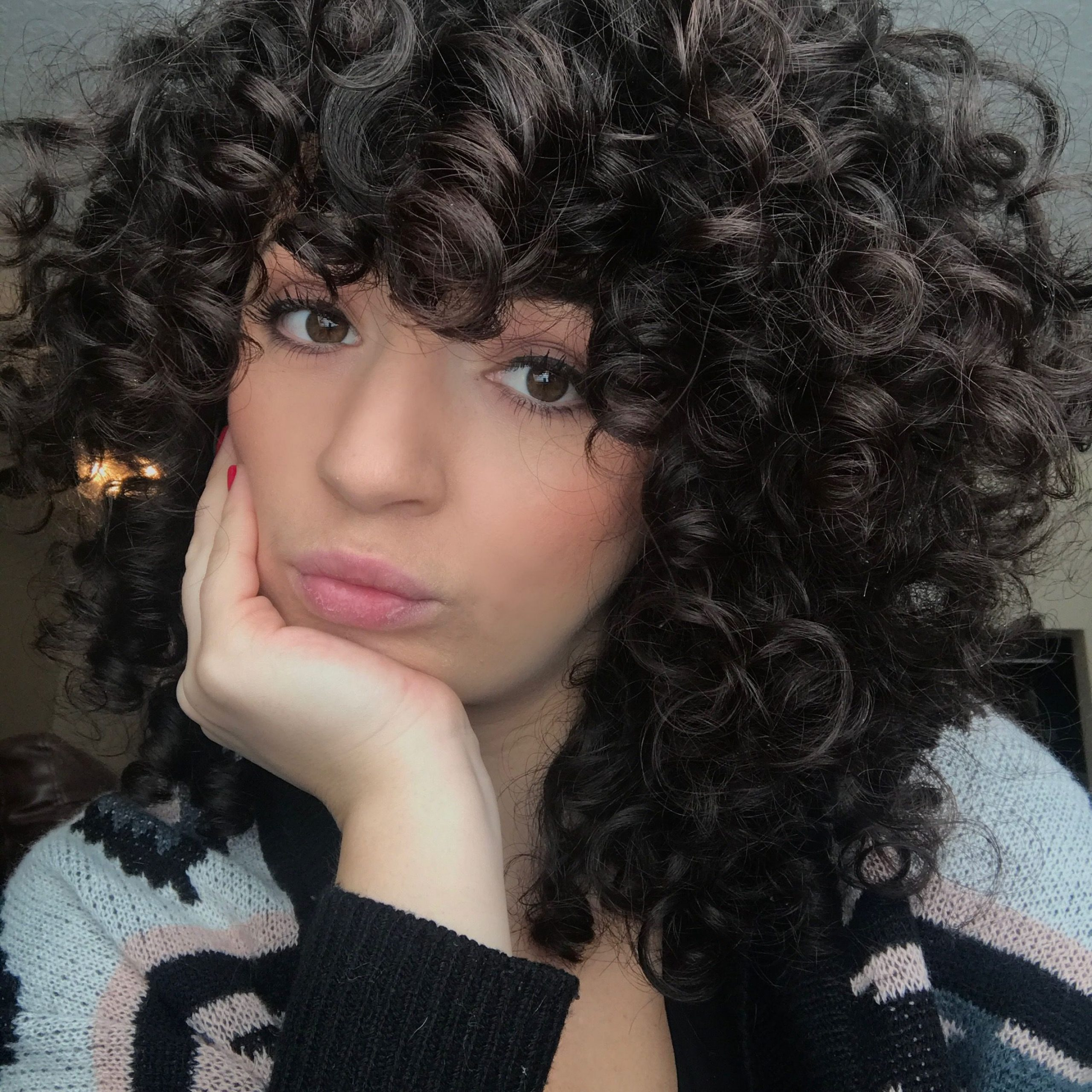Most Current Loose Shaggy Curls Hairstyles Throughout Pin On Short Hairstyle (View 6 of 20)