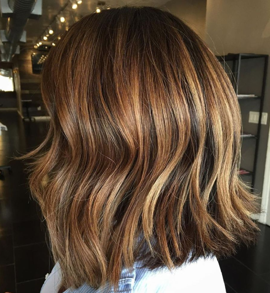 Most Current Shiny Caramel Layers Long Shag Haircuts With 80 Sensational Medium Length Haircuts For Thick Hair In (View 14 of 20)