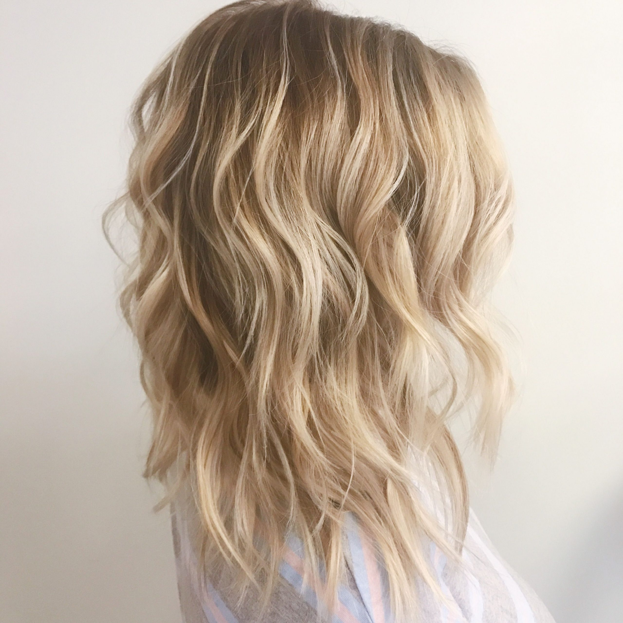 Most Current Warm Toned Wavy Brunette Shag Hairstyles Intended For Warm Toned Blonde Balayage In (View 11 of 20)