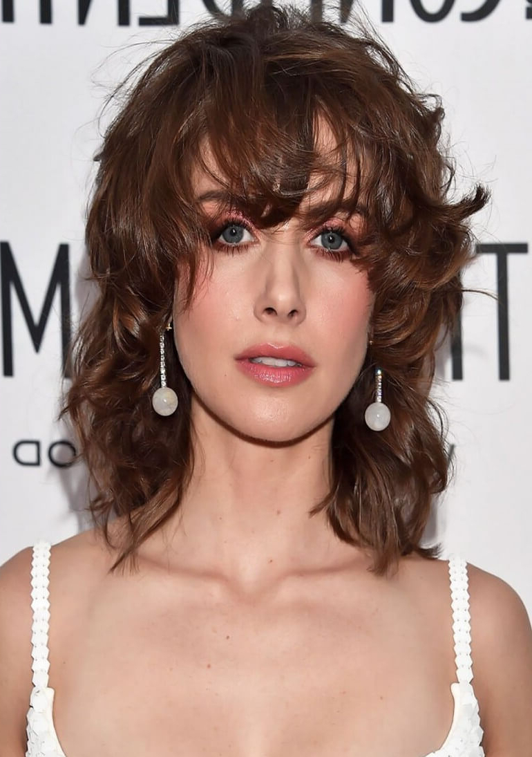 Most Current Wispy Brunette Shag Hairstyles Inside 20 Sassy And Sultry Medium Shaggy Hairstyles – Haircuts (View 17 of 20)