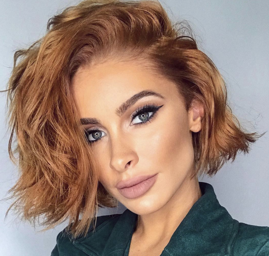 Most Impressive Shaggy Bob Haircuts 2019 For Girls For Well Liked Side Parted Layered Bob Haircuts (View 18 of 20)