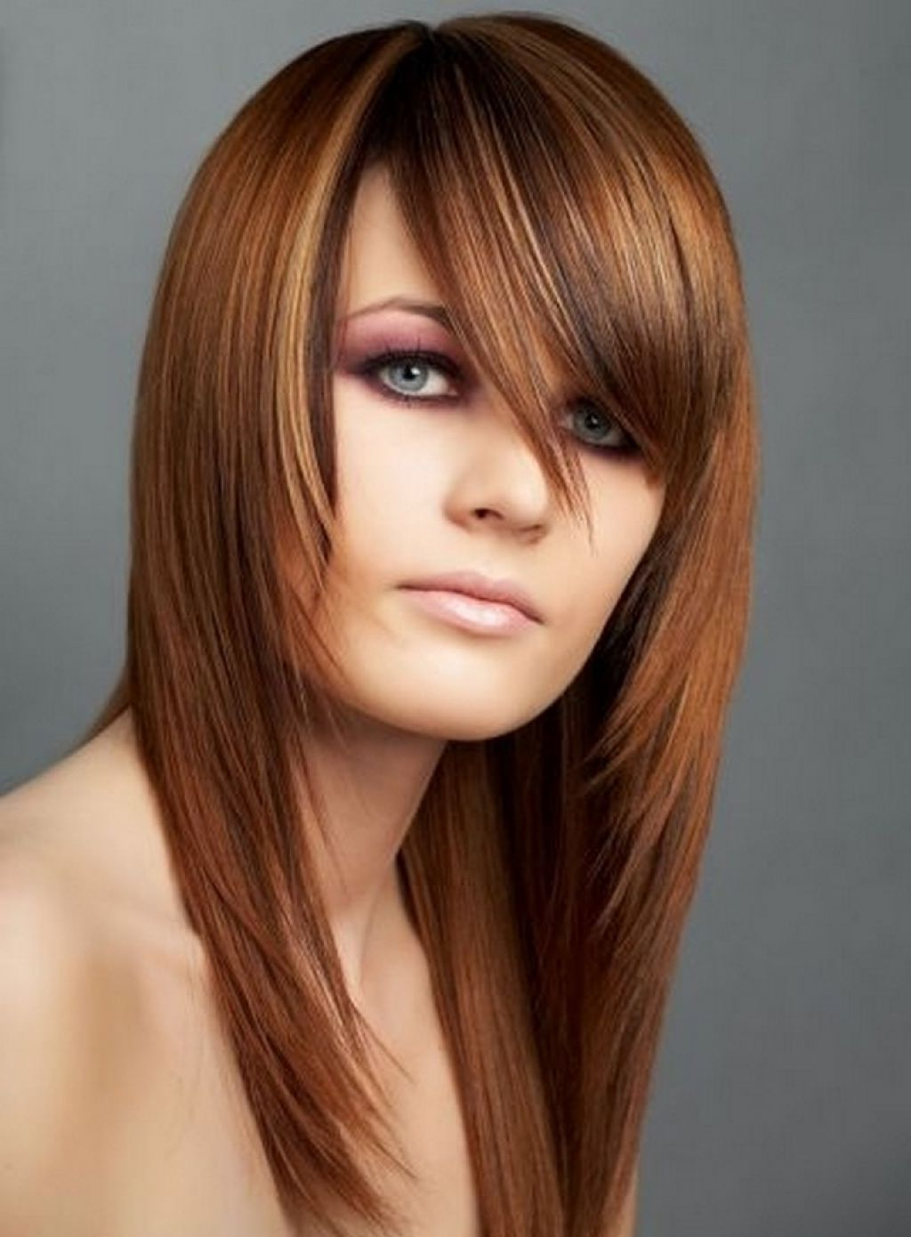 Most Popular Long Layered Chop Haircuts Inside Long Choppy Layered Hairstyles (View 12 of 20)