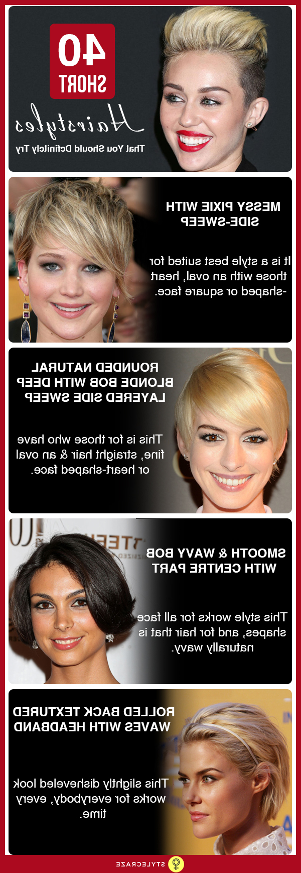 Most Popular Trendy Hairstyles To Try Out In 2019 Throughout Widely Used Messy Razored Golden Blonde Bob Haircuts (View 15 of 20)
