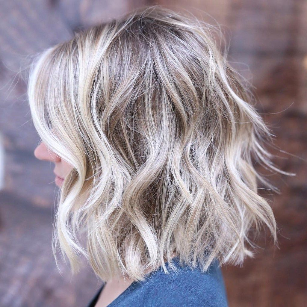 Most Recent Choppy Bright Blonde Bob Hairstyles Inside 20 Long Choppy Bob Hairstyles For Brunettes And Blondes (View 5 of 20)