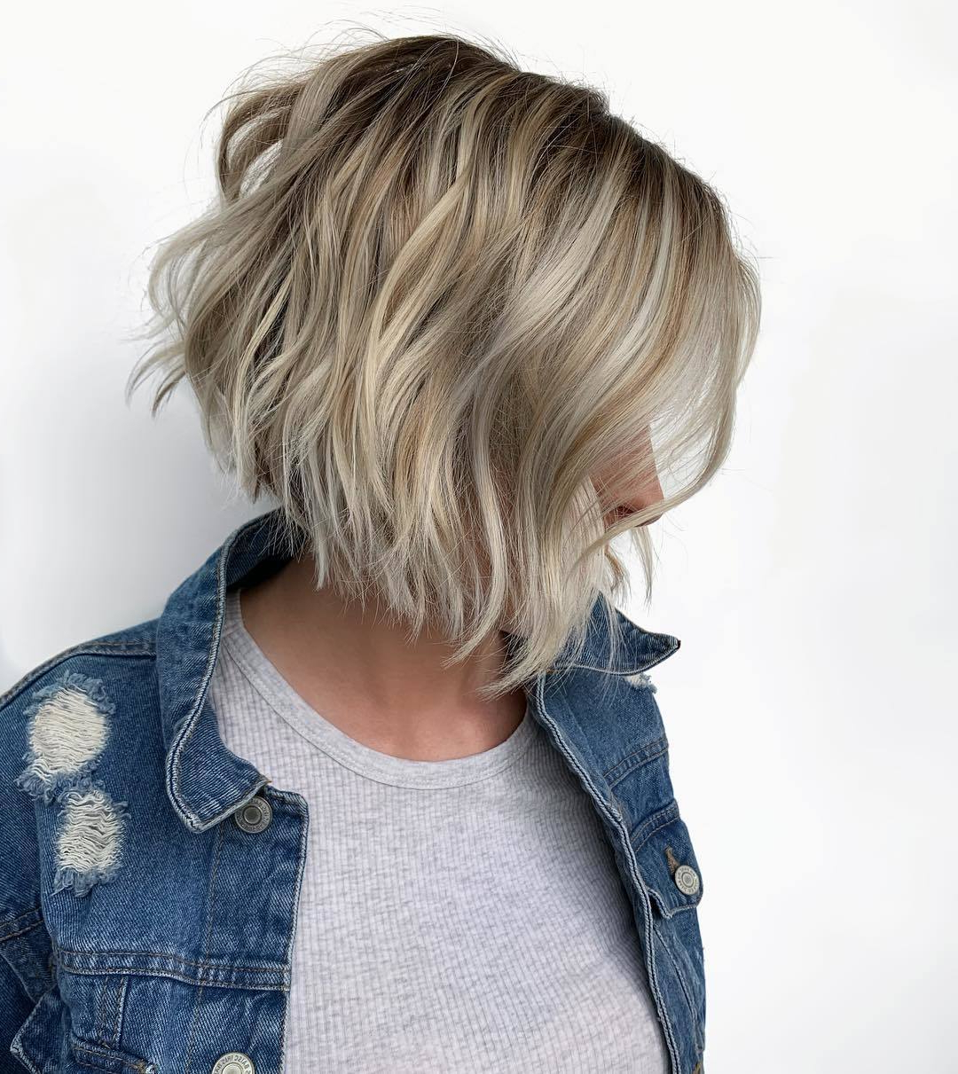 Most Recent Choppy Bright Blonde Bob Hairstyles With Regard To 20 Hot Graduated Bob Styles For Women Of All Ages (View 15 of 20)