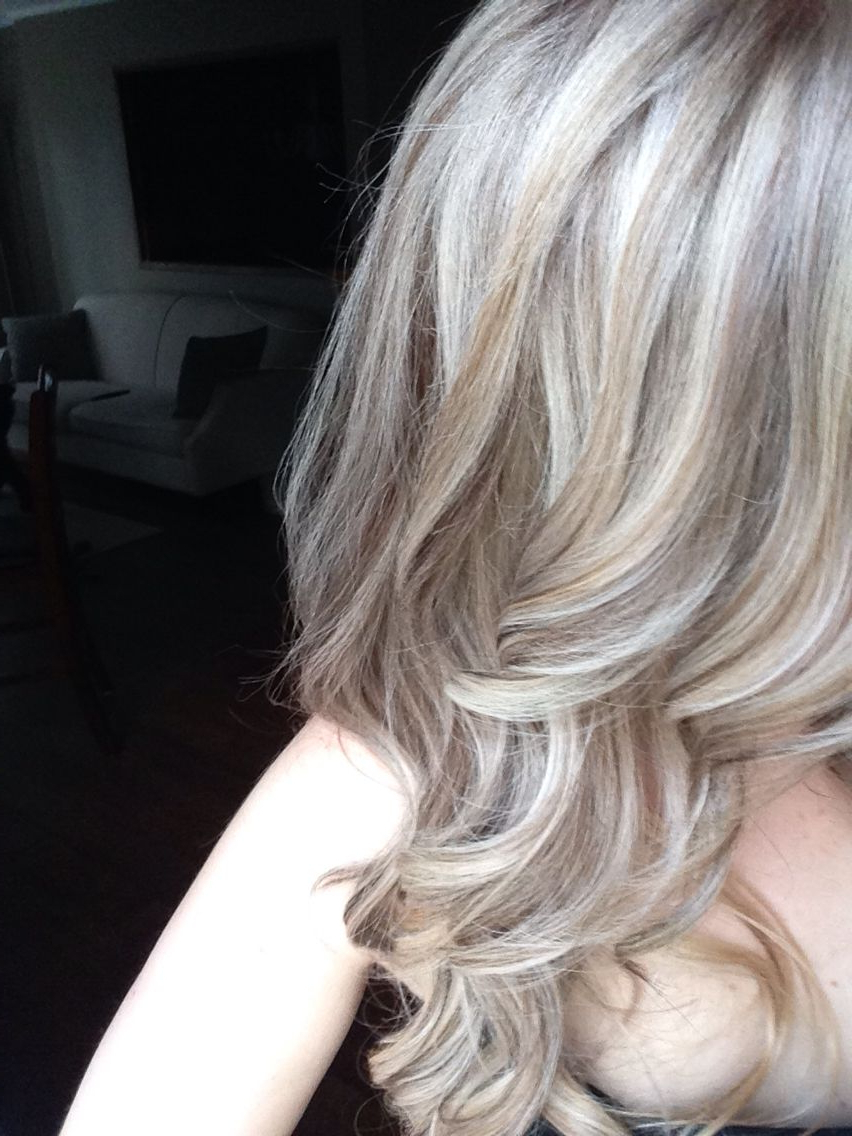 Most Recent Medium Sliced Ash Blonde Hairstyles Pertaining To Medium Ash Blonde With Platinum Baby Highlights More (View 5 of 20)