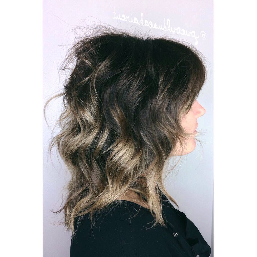 Most Recent Subtle Ombre Shag Haircuts Pertaining To Pin On Work (View 5 of 20)