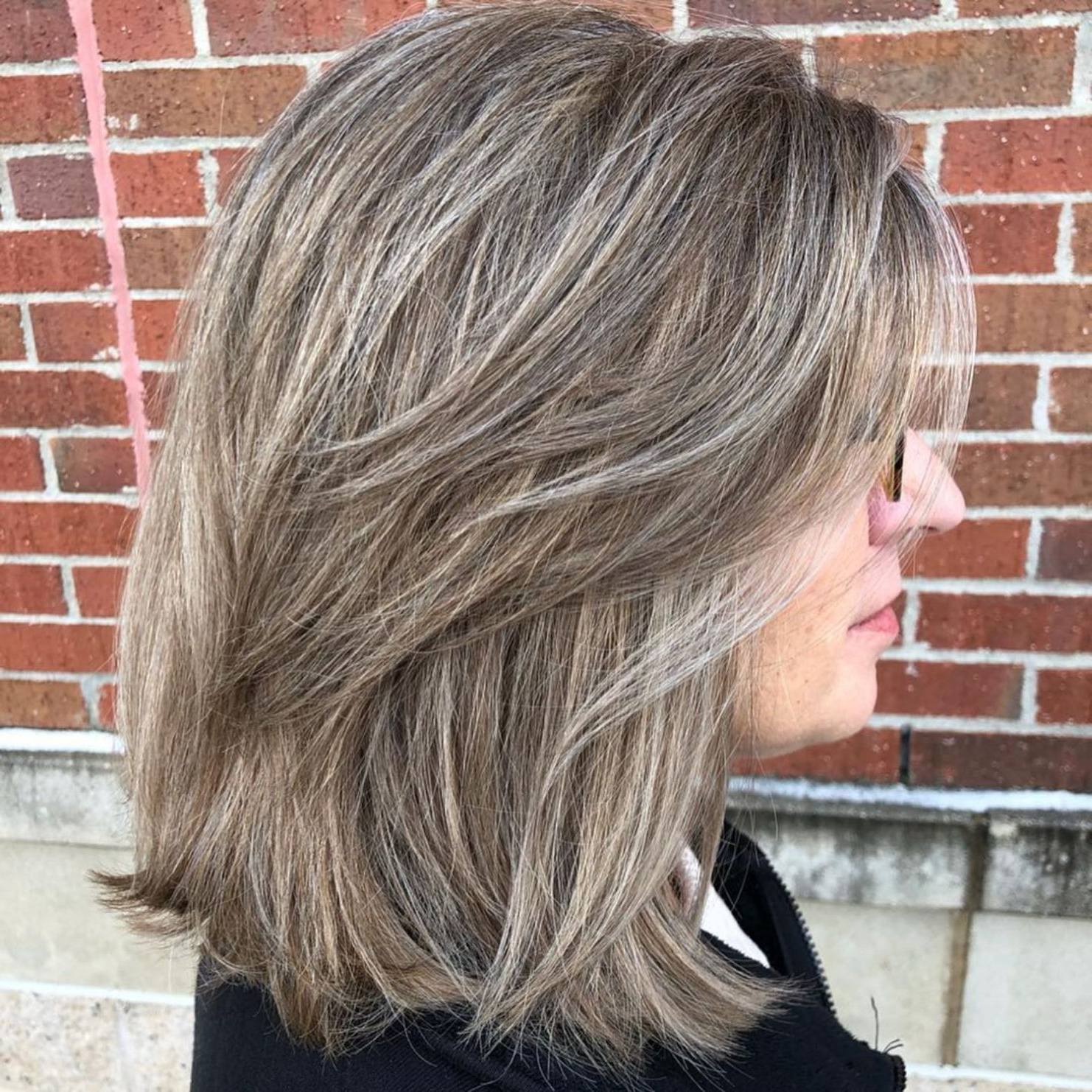 Most Recent Thick Feathered Blonde Lob Hairstyles In Pin On Shoulder Length Ideas (View 11 of 20)