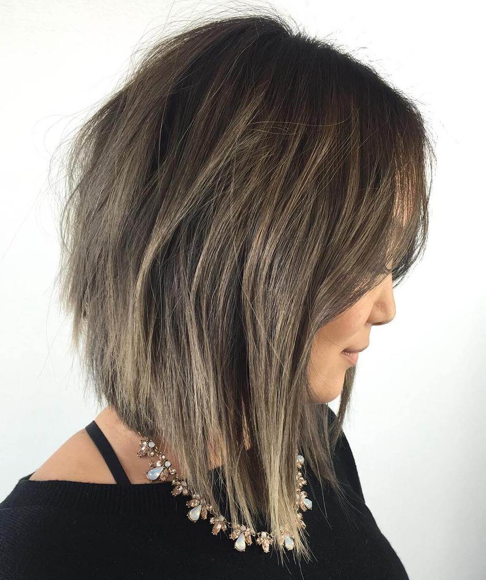 Most Up To Date Black Angled Bob Hairstyles With Shaggy Layers Inside 40 Best Bob Hairstyles And Haircuts For All Ages Women (View 10 of 20)