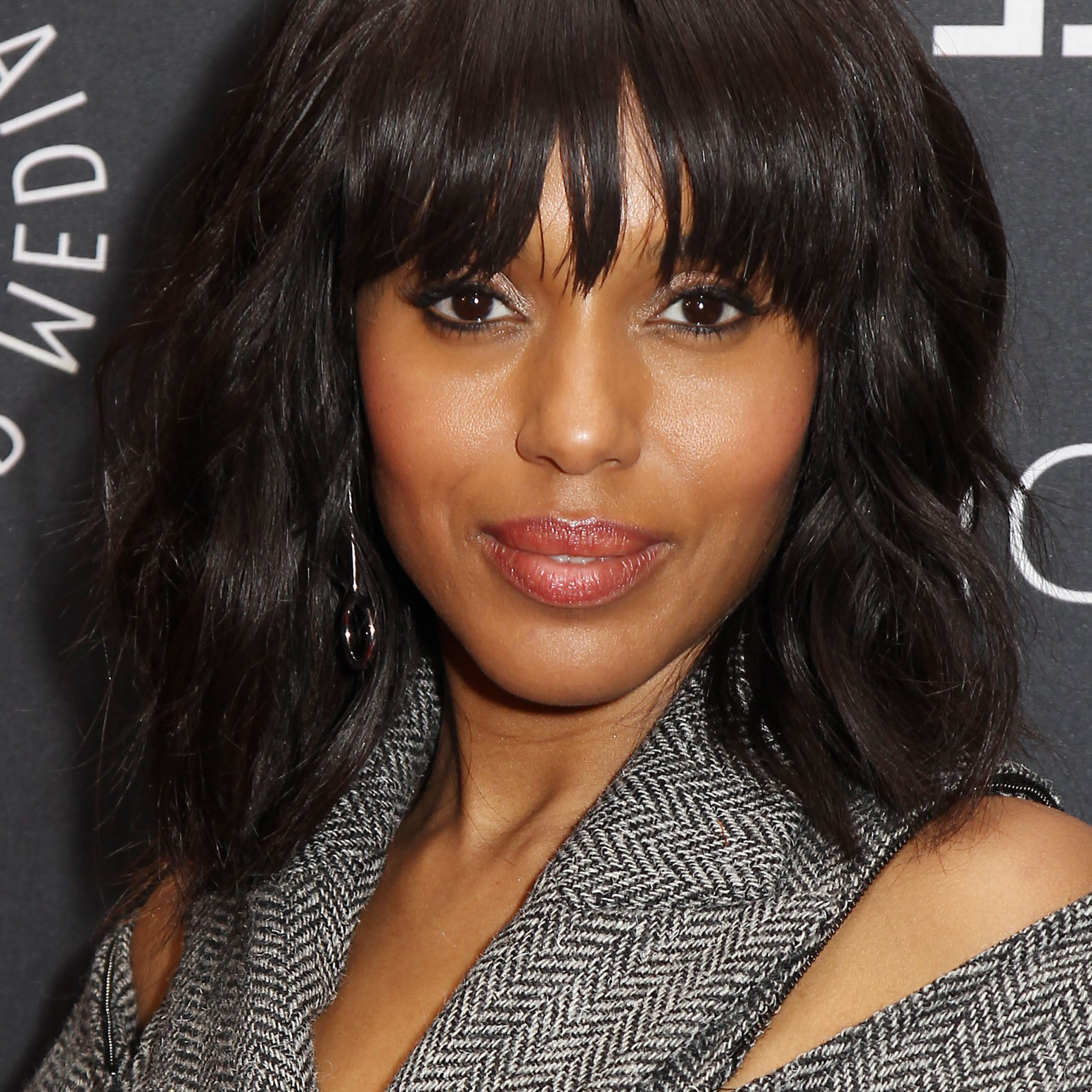 Most Up To Date Blue Black Shag Haircuts With Arched Bangs Within Wavy Hair With Bangs: 7 Star Studded Looks To Try Now (View 11 of 20)