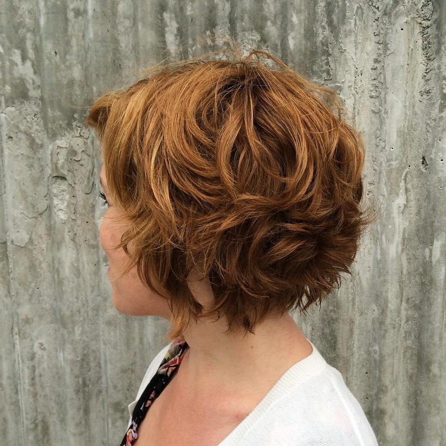 Most Up To Date Chestnut Brown Choppy Lob Hairstyles Regarding 30 Inspiring Layered Bob Haircuts 2019 – Page 21 Of (View 14 of 20)
