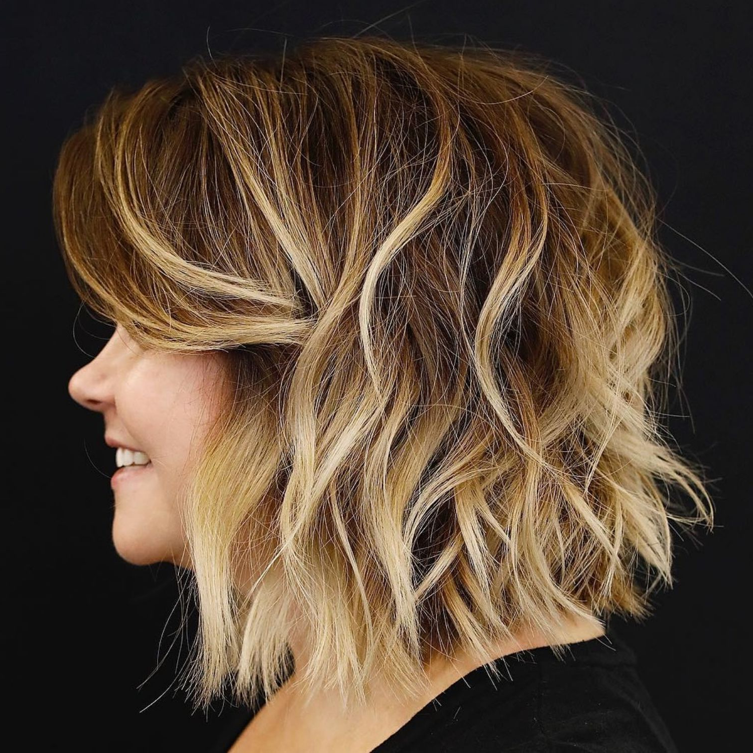 Most Up To Date Honey Bronde Shaggy Hairstyles With Bangs With Regard To 60 Most Magnetizing Hairstyles For Thick Wavy Hair (View 4 of 20)