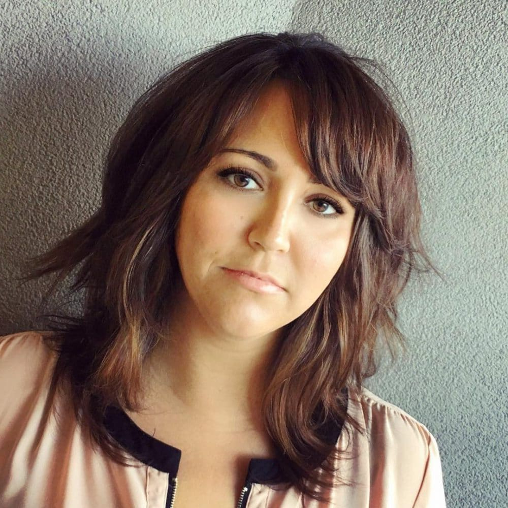 Newest Cute Sliced Brunette Shaggy Haircuts Throughout 26 Modern Shag Haircuts To Try In (View 5 of 20)