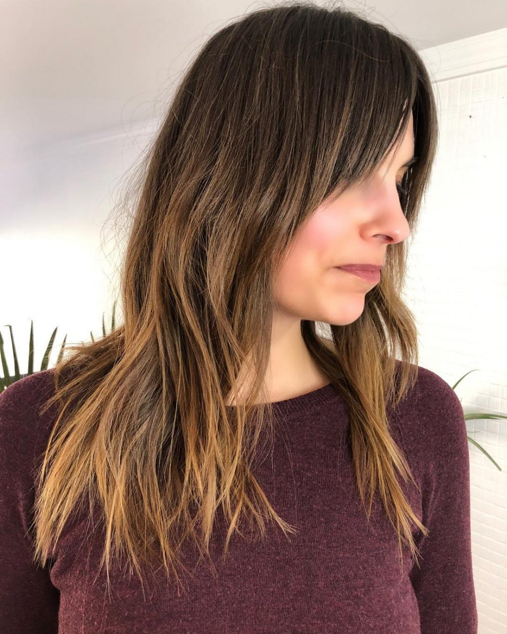 Newest Disconnected Brown Shag Long Hairstyles With Highlights With Long Shag Haircuts: 36 Examples For (View 18 of 20)