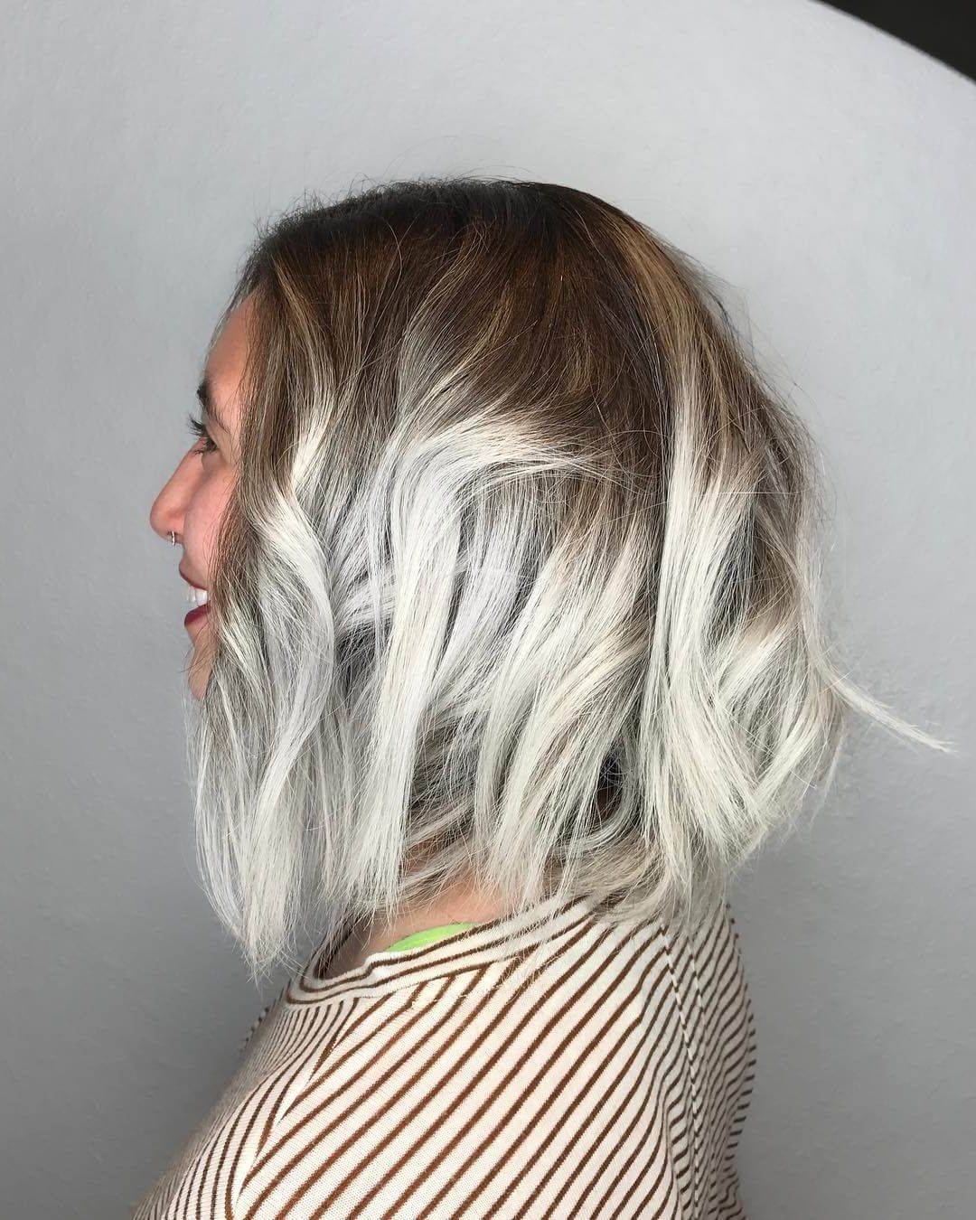 Newest Lovely Two Tone Choppy Lob Hairstyles Pertaining To 25 Most Coolest Choppy Bob Hairstyles For Women – Haircuts (View 14 of 20)