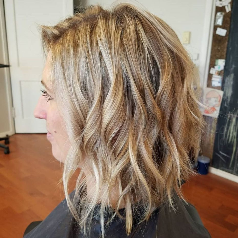 Newest Medium Wavy Bronde Shag Haircuts For 60 Best Variations Of A Medium Shag Haircut For Your (View 7 of 20)