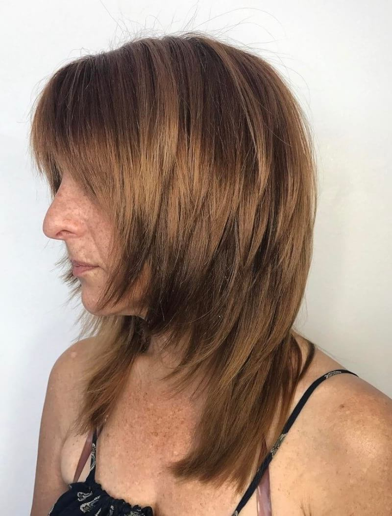 Newest Shaggy Chestnut Medium Length Hairstyles For 20 Medium Shaggy Hairstyles To Get Stylish Look (View 8 of 20)
