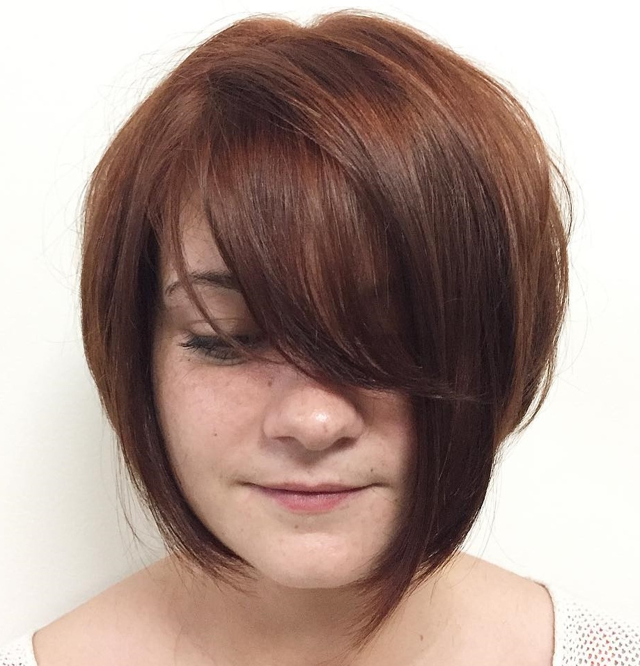 Newest Tousled Auburn Bob Haircuts Within 35 Cute Short Bob Haircuts Everyone Will Be Obsessed With In (View 14 of 20)