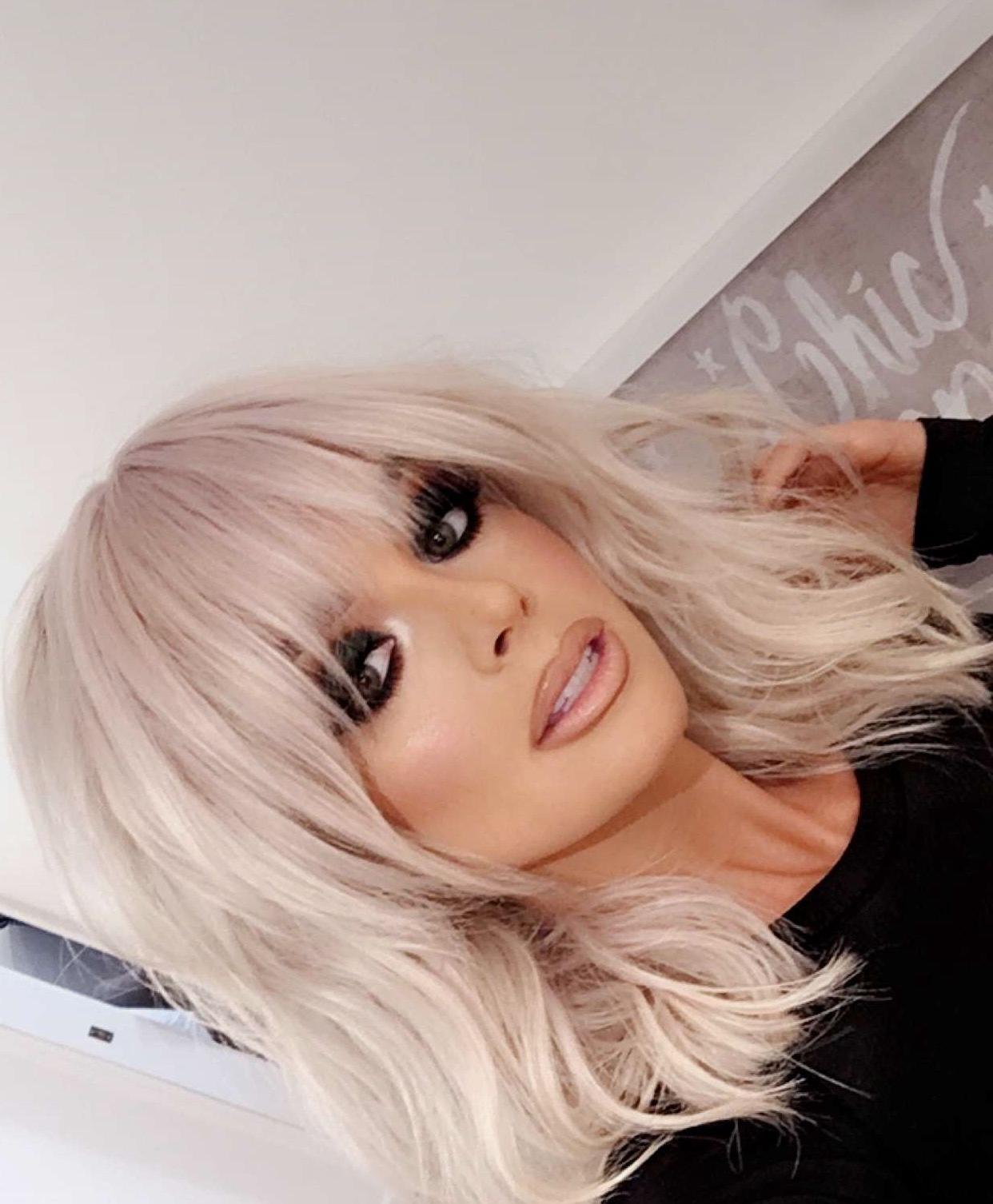Newest Wispy Layered Blonde Haircuts With Bangs In Short, Layered Haircut With Bangs– Looks Gorgeous On (View 11 of 20)