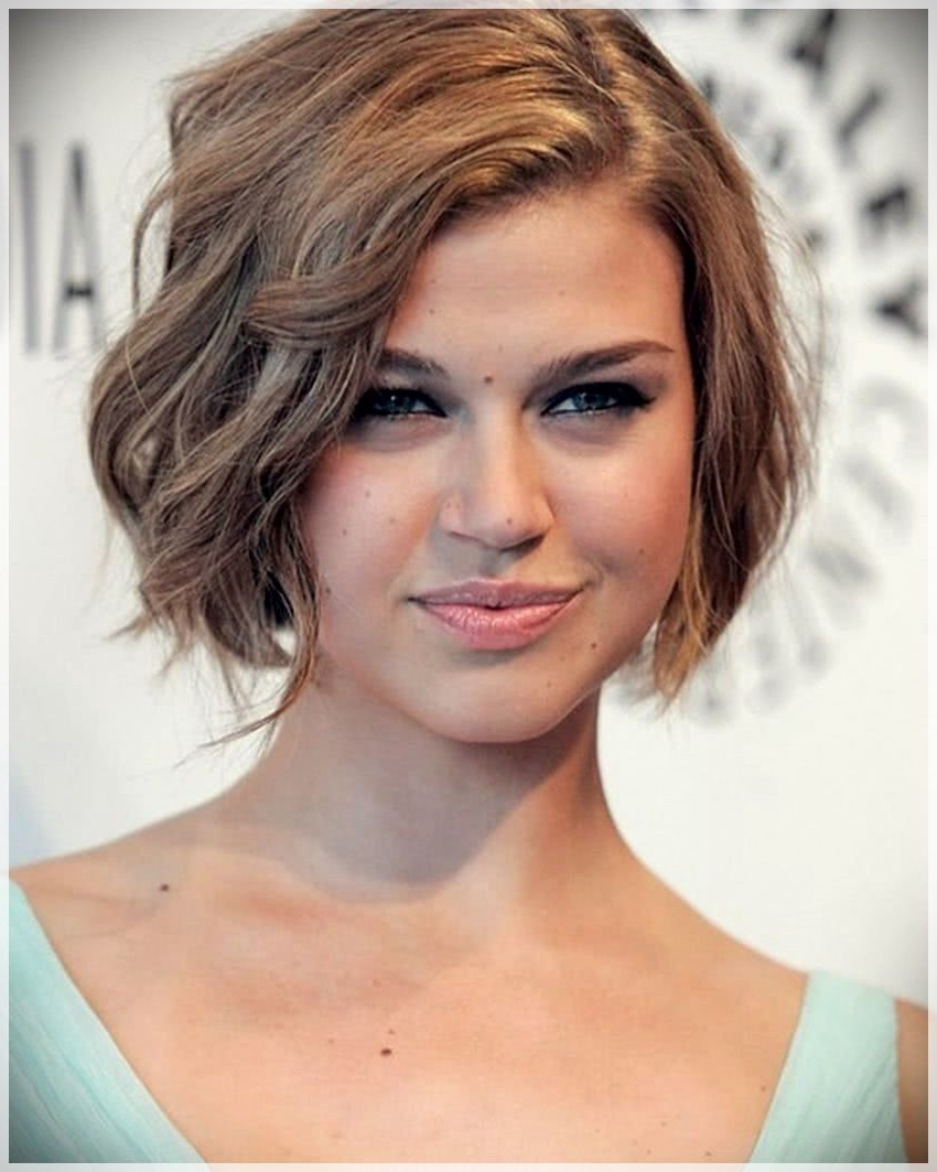 Pin On Autumn Winter Hairstyles 2019 Inside Classic Asymmetrical Hairstyles For Round Face Types (View 15 of 20)