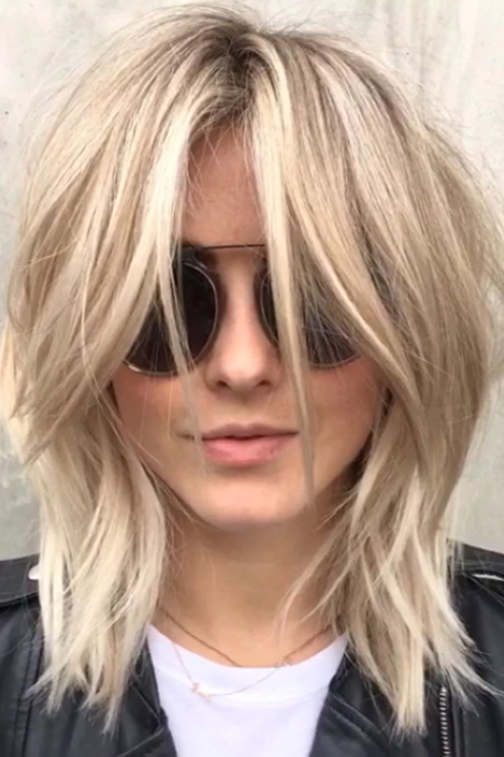 Pin On Beauty How To And Style Pertaining To Fashionable Grungy Shag Haircuts (View 9 of 20)