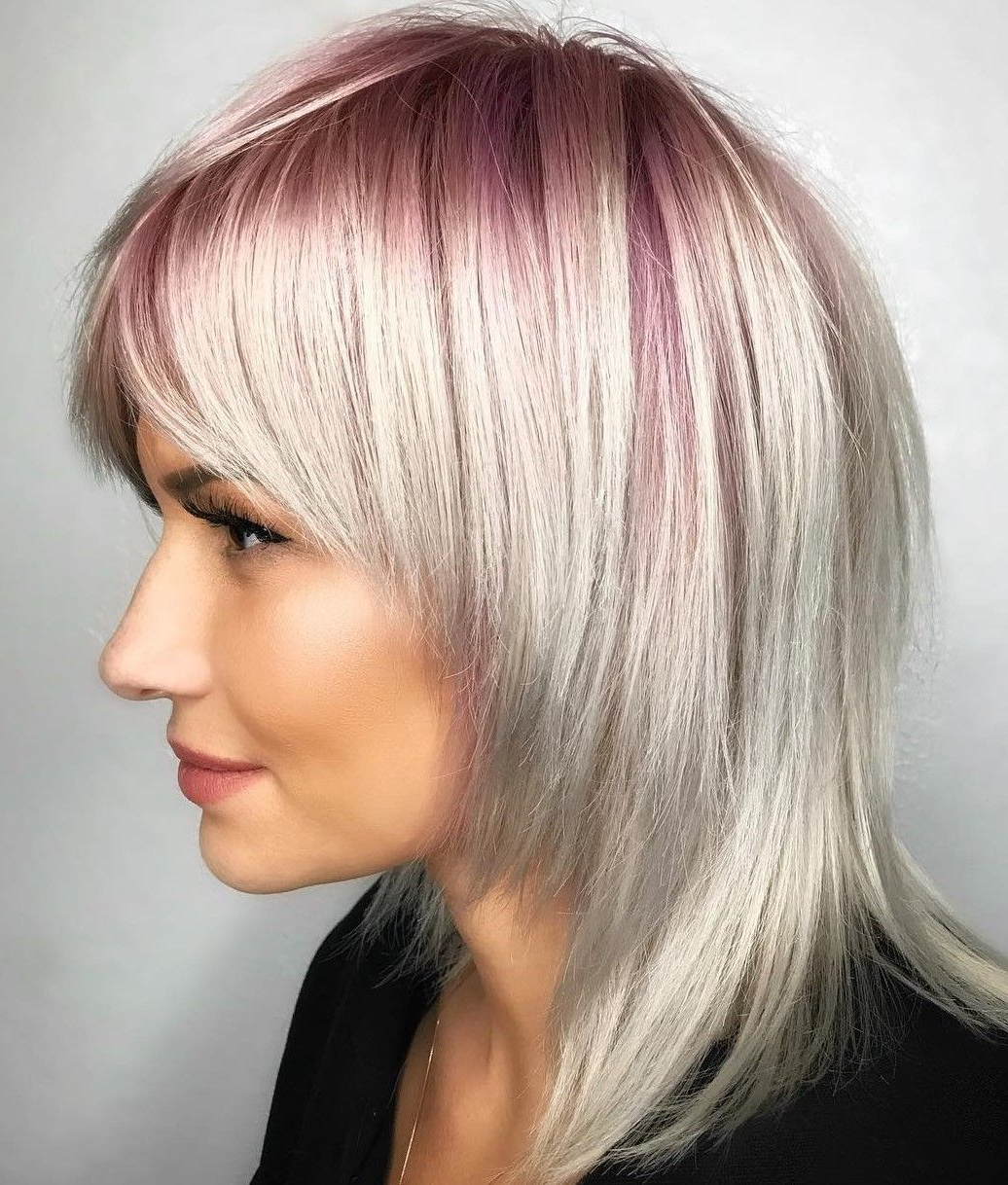 Pin On Beauty With Latest Blonde Shag Haircuts With Emphasized Layers (View 2 of 20)