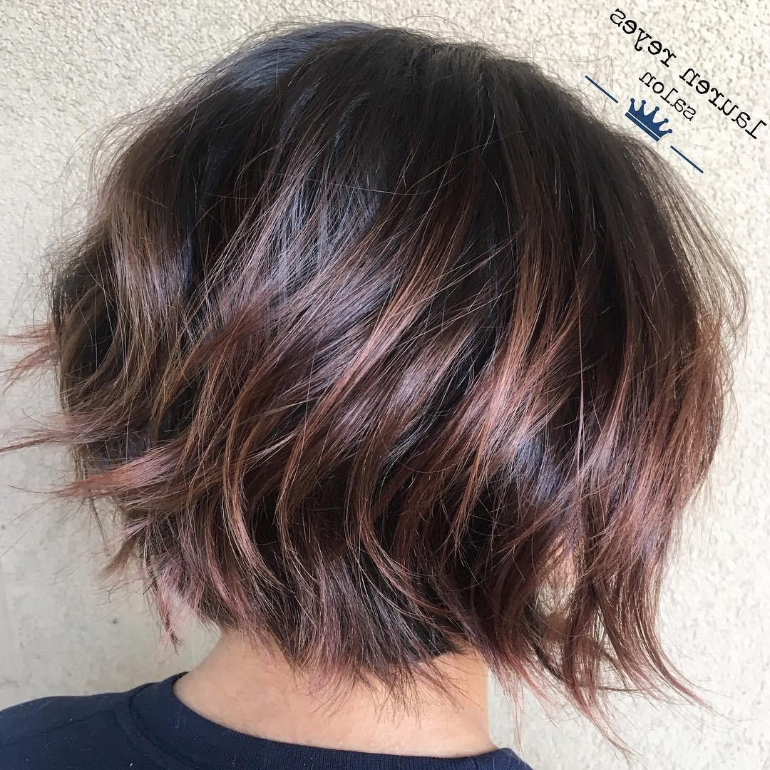 Pin On Beauty Within Razored Two Layer Bob Hairstyles For Thick Hair (View 4 of 20)