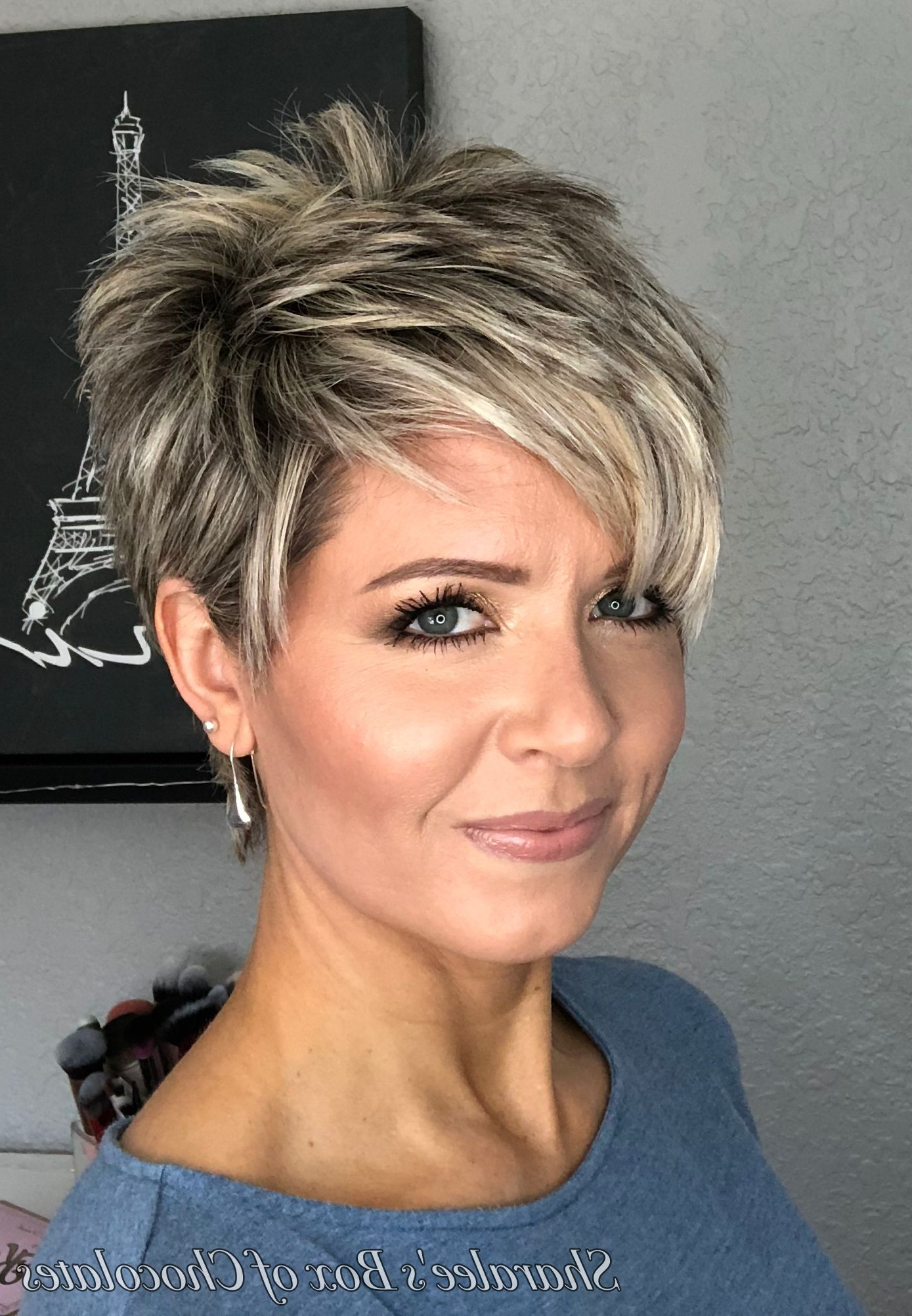 Pin On Cool Hair Within Messy Spiky Pixie Haircuts With Asymmetrical Bangs (View 6 of 20)