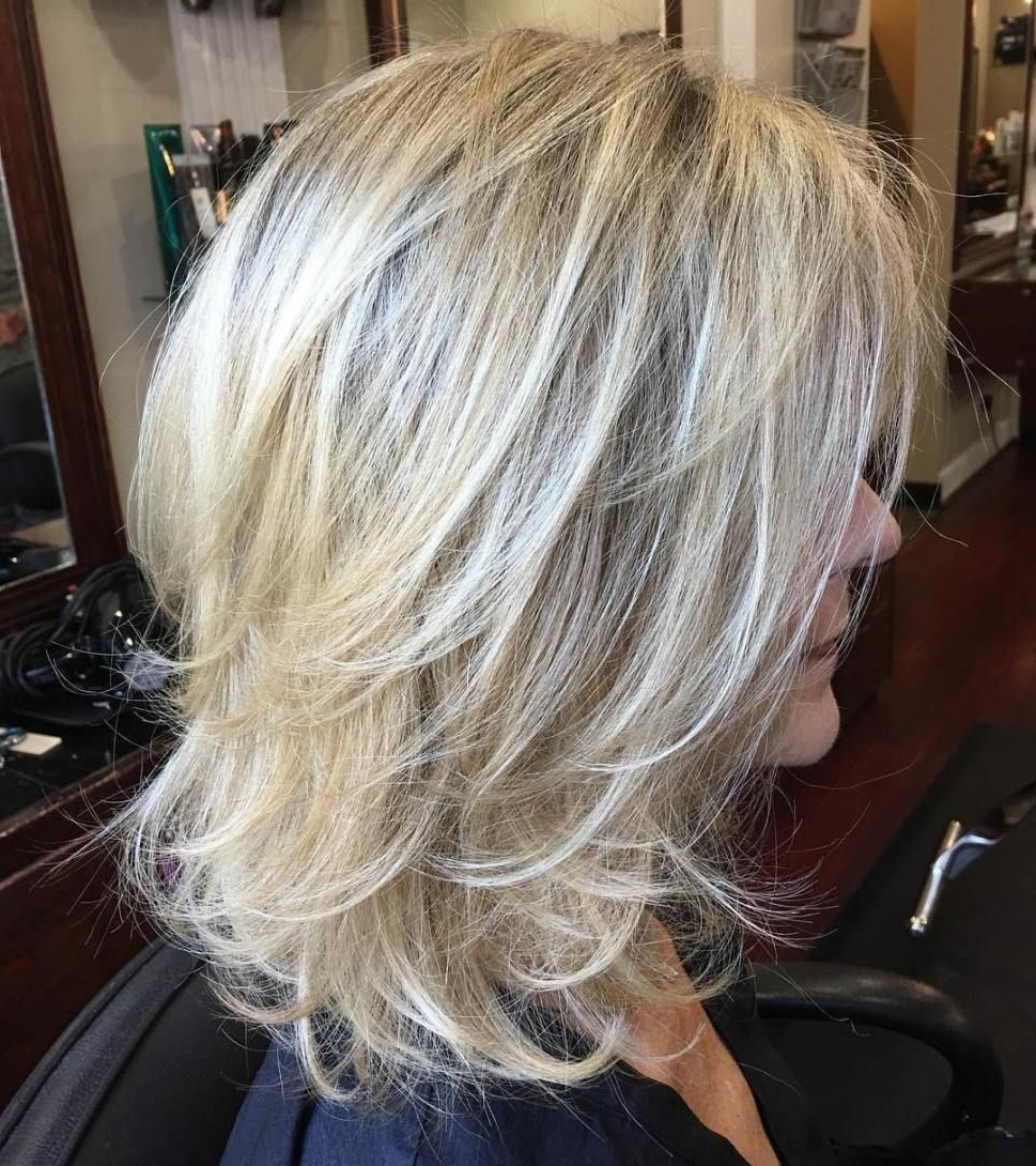 Pin On Cute Hair Pertaining To Widely Used Shaggy Chestnut Medium Length Hairstyles (View 7 of 20)