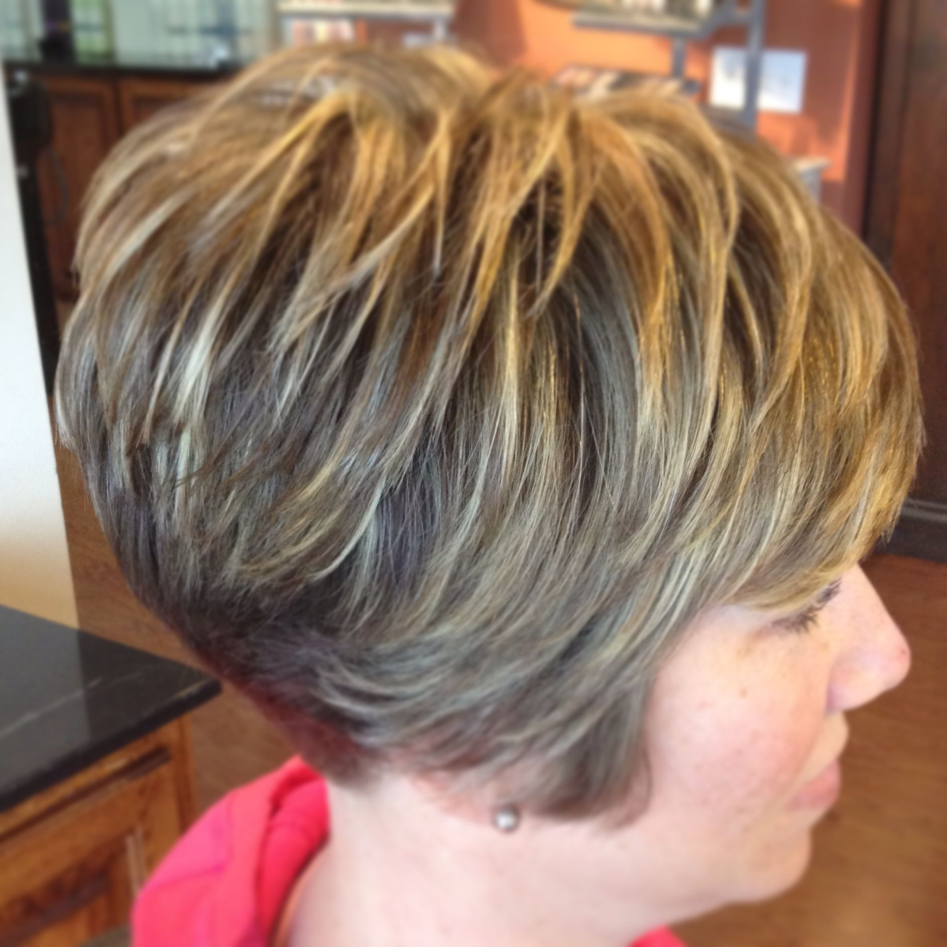 Pin On Designs ~ Short Throughout Short Highlighted Shaggy Haircuts (Gallery 6 of 20)